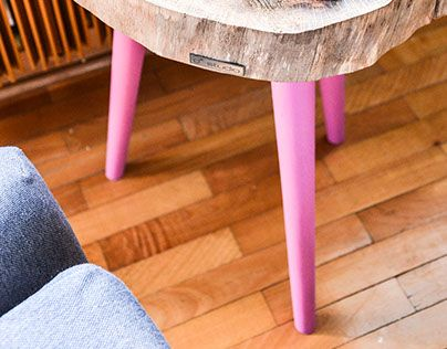 """Check out new work on my @Behance portfolio: """"Pink Little Coffee Table - 415zł…"""