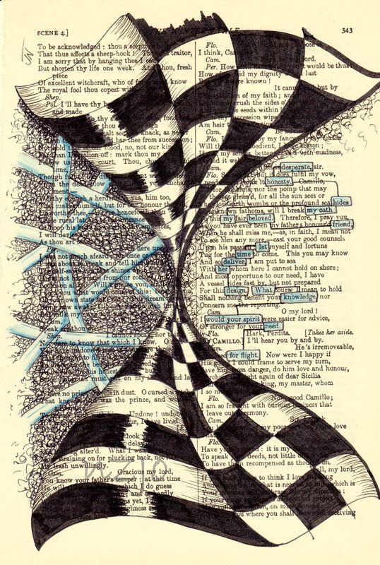 found poetry | Original Art - Found Poetry - Flight    http://www.pinterest.com/source/felt.co.nz/