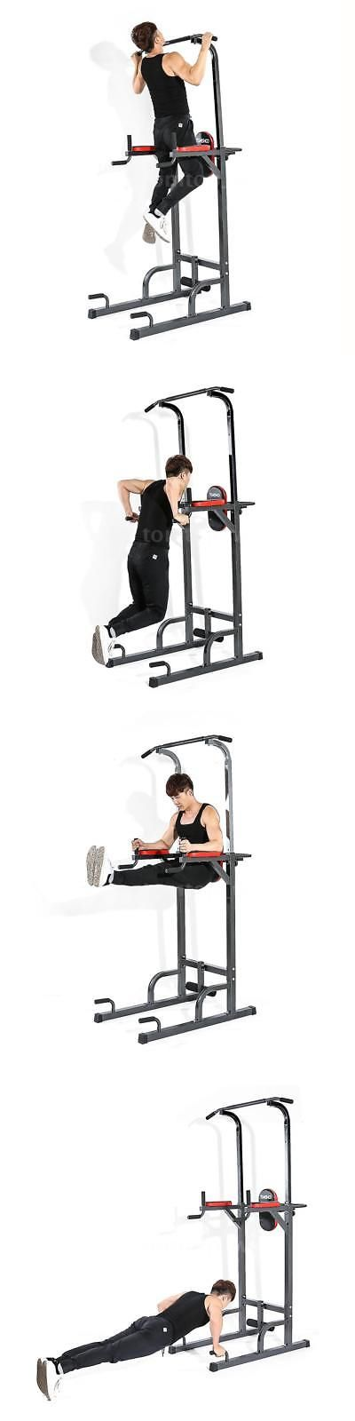 Abdominal Exercisers 15274: Tomshoo Pull Up Stand Rack Multi Station Power Tower Muscle Strength Toner Q9m4 -> BUY IT NOW ONLY: $109.82 on eBay!