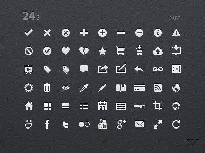 24s UI Icons