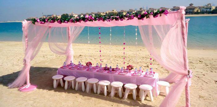 Seaside Spa Birthday Party