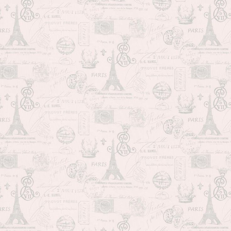 Pink French Script Fabric by Carousel Designs.