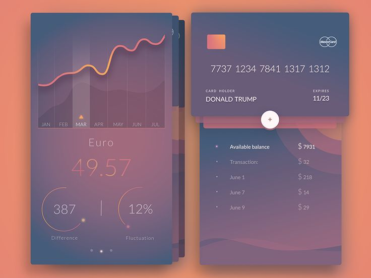 Beautiful UI Inspiration by Dennis Sevryukov — Muzli -Design Inspiration