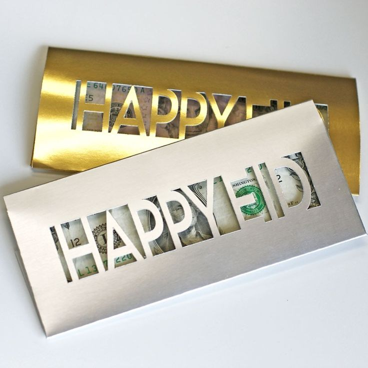 really cool product for all dat eidi- modernEID money envelopes, lasercut design in metallic #gold and #silver