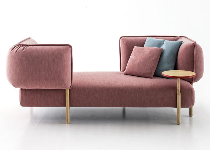 Tender Sofa by Patricia Urquiola for Moroso Fabric : Uniform Melange Coral                                                                                                                                                      More