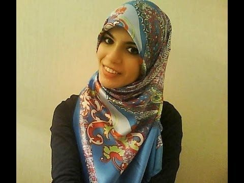 Square Headscarf/Hijab Tutorial with Full Coverage