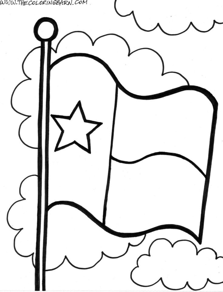 texas coloring pagejpg 10001308