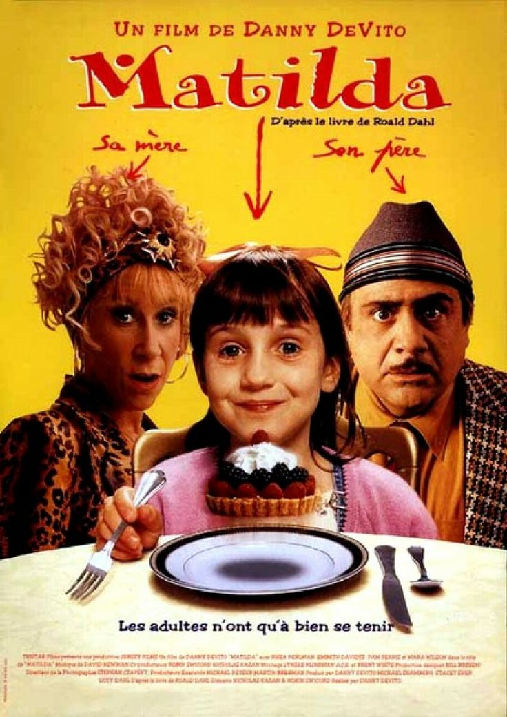 Matilda. If you don't know who she is then you didn't have a childhood.