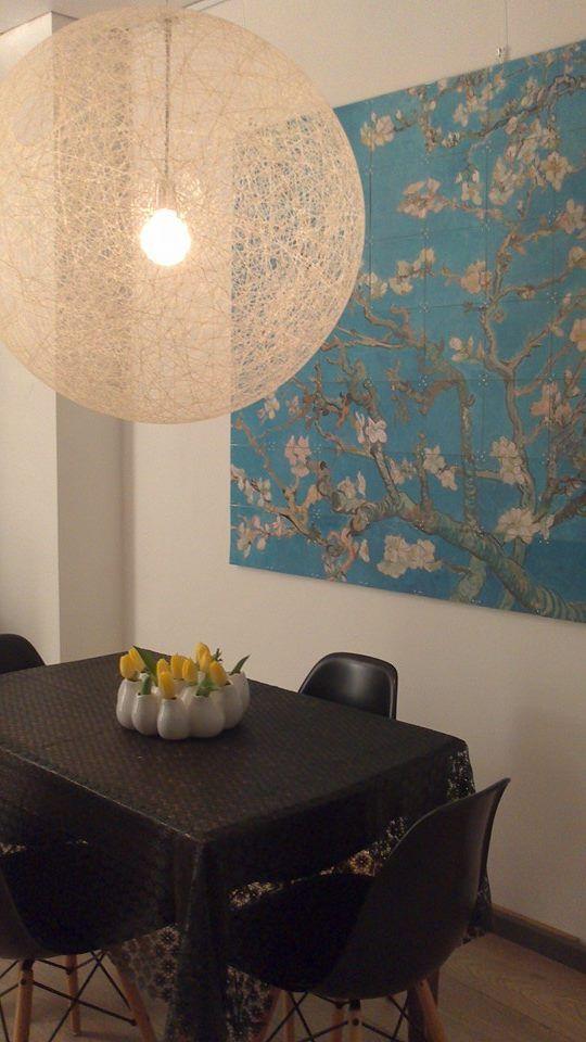 ixxi Van Gogh image bank in Nicole Bosch's interior