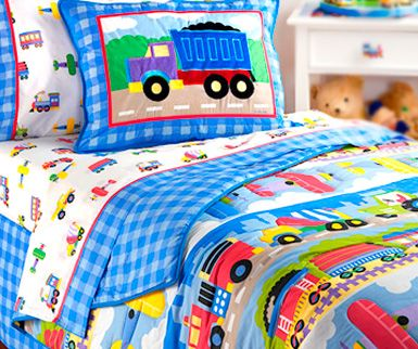 olive kids bedding trains planes and trucks as much as
