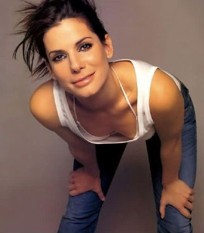 Sandra Bullock... She can be glamorous and she can be down to earth... One of the many reasons why I admire her.