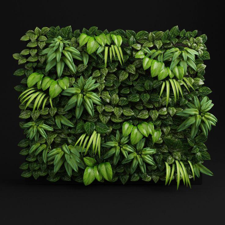 green wall 3d model - Szukaj w Google