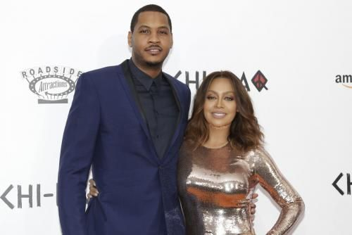New York Knicks player Carmelo Anthony gushed about La La Anthony on her 38th birthday following news of their separation.