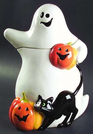 Midnight Halloween Cookie Jar by Certified International