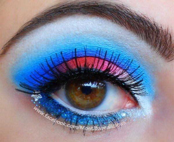 4th of july makeup video