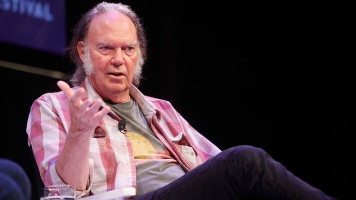 Neil Young, a.k.a. Howard Stern's dream guest, finally entered his studio at SiriusXM headquarters for a 90-minute interview today promoting his new book, his new digital music service Pono and his upcoming album 'Storytone.' From how to stop weed-induced paranoia and has a few choice words for David Crosby, click through for 12 things we learned from the incredible interview.