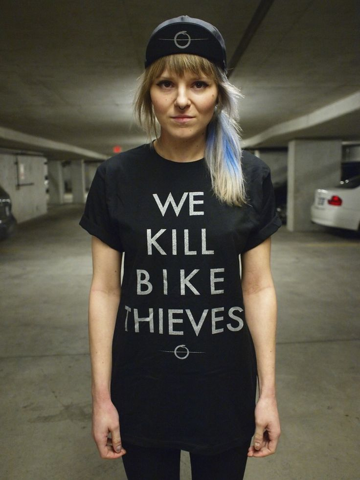 Image of We Kill Bike Thieves Tee