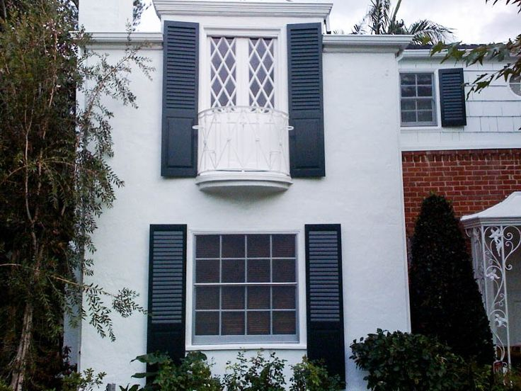Our Exterior Shutters, Like These Wood Exterior Shutters With A Combination  Of Louvers And Raised Panels, Are The Highest Quality Shutters That You  Will ... Part 89