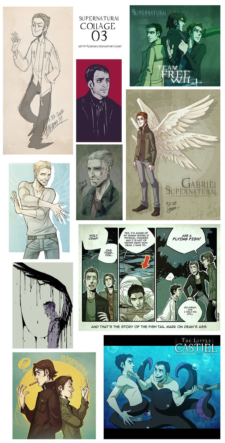"""Tags: Supernatural, Dean Winchester, Sam Winchester, Castiel, Lucifer (Supernatural), Garama, Gabriel (Supernatural), Crowley (Supernatural), Leviathan (Supernatural), Team Free Will, Balthazar (Supernatural)"" Crowley is best Ursula..."