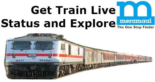 Check #TrainLiveStatus of Indian Railway portal at @Meramaal. You can find the current location of your train online.