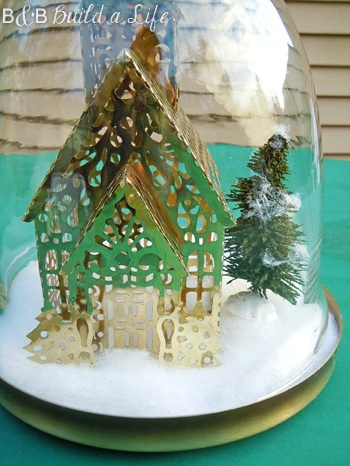 1000 Images About Winter Cloche On Pinterest Christmas Villages Owl And Inspirational