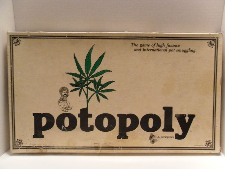 Potopoly Vtg 1979 Board Game Like Monopoly Rare Weed Stoner 420 Pot Drugs Hippie | Toys & Hobbies, Games, Board & Traditional Games | eBay!