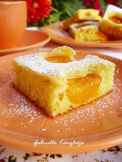 Gabriella kalandjai a konyhában :): Barackos pite grízes tésztával