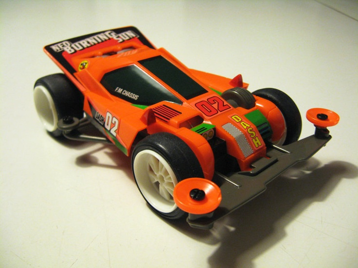 Dash 02 Neo Burning Sun by Aran (original) | Mini 4WD | #Mini4WD | #Tamiya
