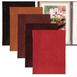 【貴店のロゴ名入れできます!】 日本のデザインを素押しで表現したメニューブック! 軽量150gのアーバンタイプメニューブックです。 おしゃれなおもてなしにぜひご利用下さい。 籠目模様、麻の葉模様、木目模様の3種類。 【TKO-101】アーバンタイプメニューブック(A4/4ページ/メニューピン仕様)