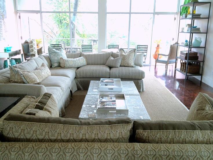 Good California Home Featuring Quatrine Slipcovered Furniture