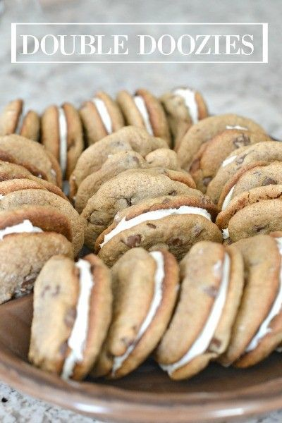 Double Doozies....super easy, and you will be a hit at your next get together