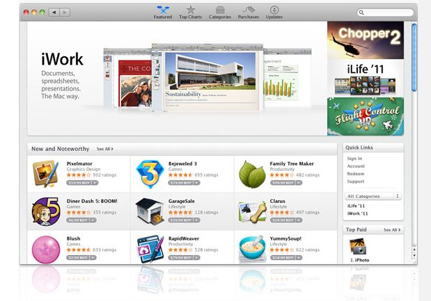 Apple's Mac App Store Opens With More Than 1,000 Apps | TechCrunch
