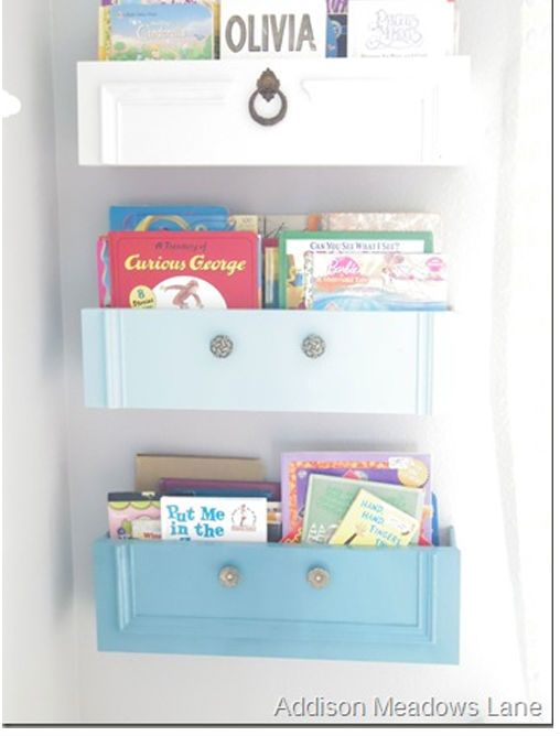 Instead Of Tossing Old Dresser Drawers, She Did This. I Can't Believe I Never Thought To Do THIS…