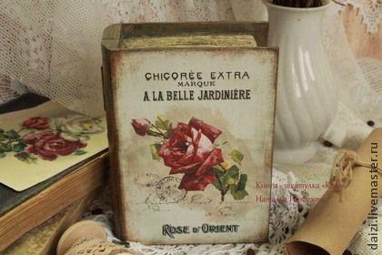 """Шкатулки ручной работы. Ярмарка Мастеров - ручная работа Шкатулка-книга """"Rose"""". Handmade."""