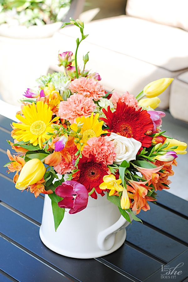 Spring Flower Arrangement 2