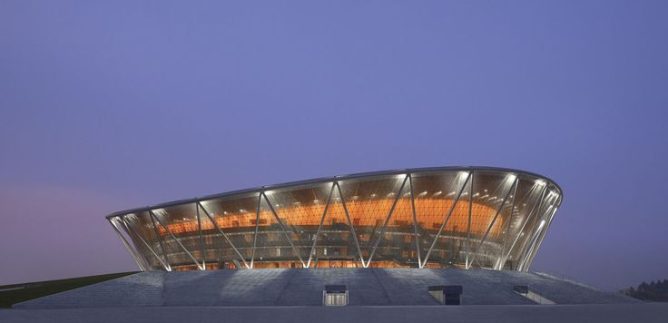 BASKETBALL STADIUM IN DONGGUAN BY GMP ARCHITEKTEN