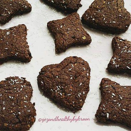 Chocolade-kokos koekjes - Tips en inspiratie voor een fun & healthy lifestyle