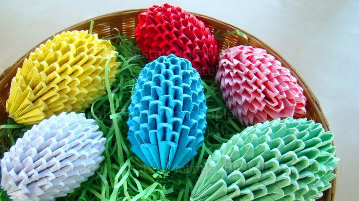 Origami Jajko: Jak zrobic jajko wielkanocne origami?