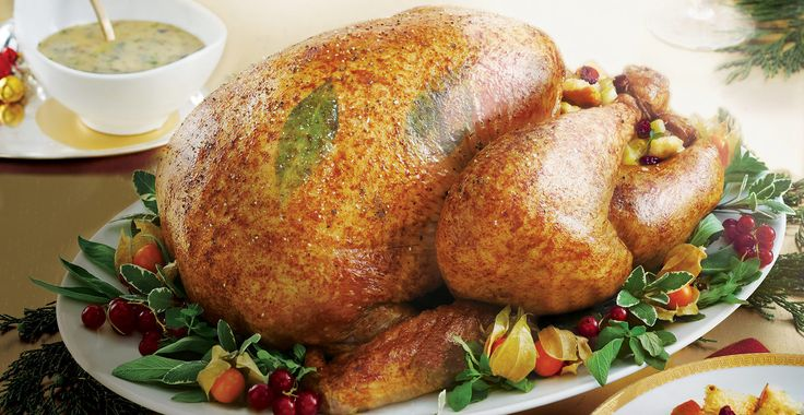Perfect Roast Turkey with Cranberry Stuffing