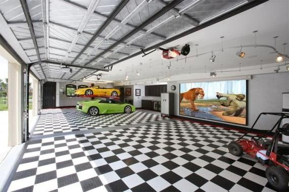 Garage Man Cave Projector : 10 man cave ideas your father always dreamed of men and