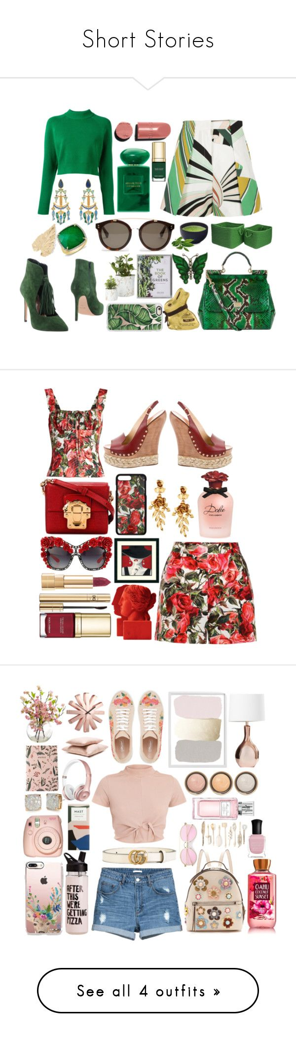 Short Stories by pulseofthematter on Polyvore featuring polyvore fashion style DKNY Emilio Pucci Anna F. Dolce&Gabbana Tory Burch Anne Sisteron Giorgio Armani Chanel STELLA McCARTNEY Home Decorators Collection Casetify Lelet NY Jona Lindt clothing Oscar de la Renta Sophia Gucci Fendi ban.do Fuji Kate Spade Hawkins Umbra By Terry Christian Dior Red Camel Deborah Lippmann MANGO Cole Haan NEST Jewelry Victoria Beckham NOVICA Luminarc H&M Elizabeth and James
