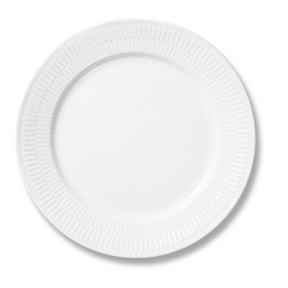 Royal copenhagen riflet Frokosttallerken 22 cm
