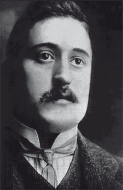 Guillaume Apollinaire (born Wilhelm Albert Włodzimierz Apolinary Kostrowicki; Rome, Italy 26 August 1880 – Paris, France 9 November 1918, aged 38) was a French poet, playwright, short story writer, novelist, and art critic born to a Polish mother Angelika Kostrowicka, a Polish noblewoman of Wąż coat of arms. He is considered one of the foremost poets of the early 20th century and one of the forefathers of surrealism.