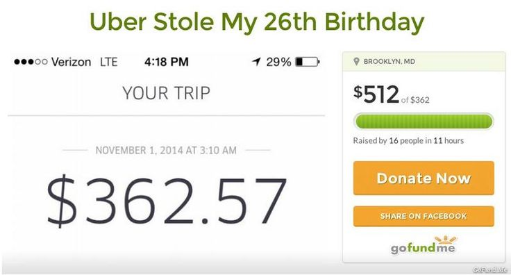 26-Year-Old Successfully Crowd Funds To Pay For Her $362 Halloween Uber Ride - http://www.pointswithacrew.com/26-year-old-successfully-crowd-funds-pay-362-halloween-uber-ride/