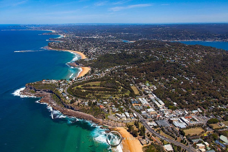 Avalon, Sydney's Northern Beaches -  Looking South