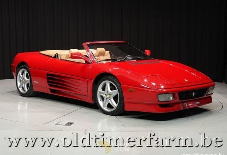 Ferrari 348 Spider Us Cabriolet Cabriolet Roadster 1994 Red Car For Sale 232308 Ferrari 348 Classic Cars Ferrari