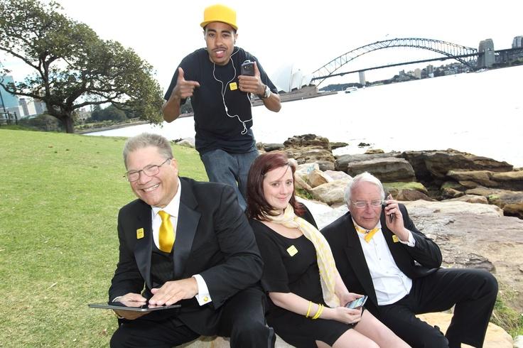 The Optus Fast Four.  www.optus.com.au/4G