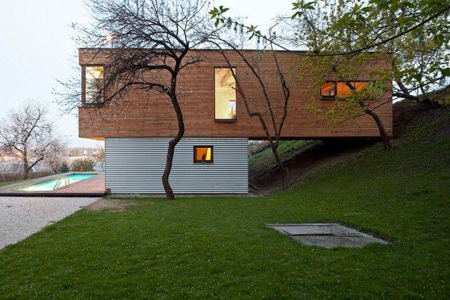 Modular living.Contemporary Home, Anti Patios, House Design, Drozdov Partner, Wood Design, Container House, Holy Cows, Wood House, Patios House