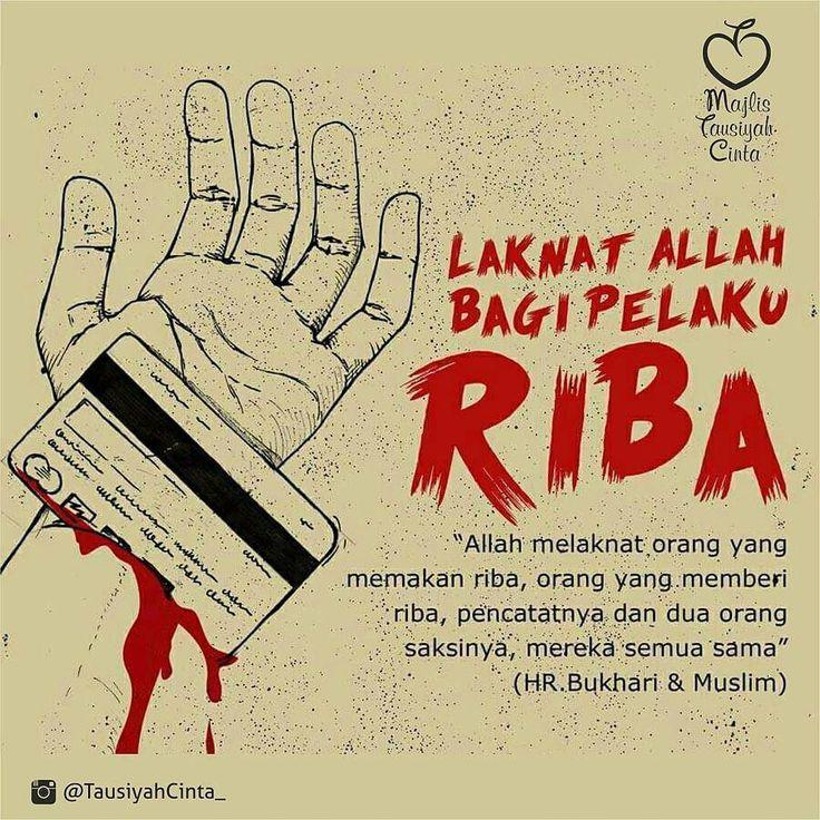 @tausiyahcinta_ -  Semoga Kita Di Jauhkan Dari Harta Haram Riba... Aamiin