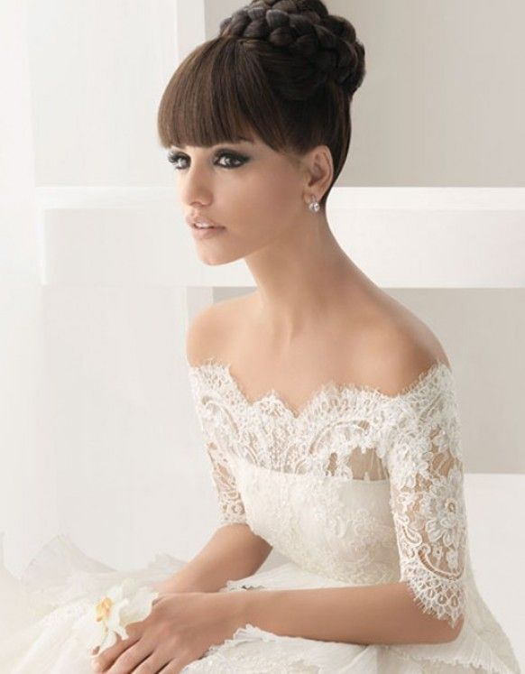 Off-The-Shoulder Wedding Dress ? Winter Lace Wedding Dresses | Dantel Kayik Yaka Gelinlikler ? Kis Icin Gelinlik Modelleri